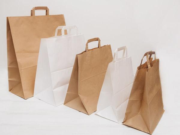 Чем крафт пакеты лучше полиэтиленовых? | Ярмарка Мастеров - ручная работа, handmade