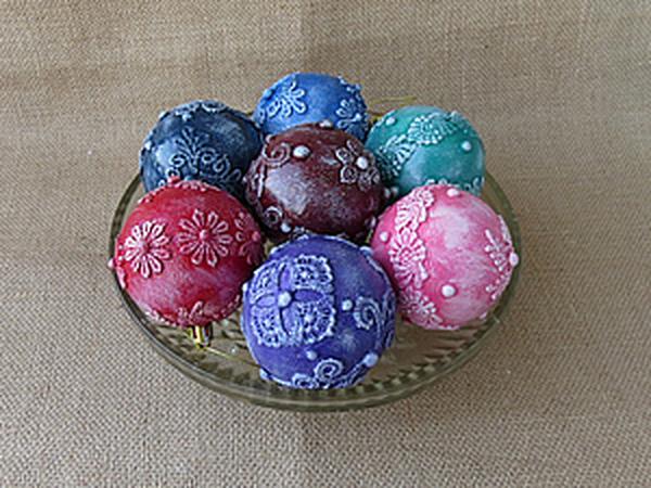 Как просто сделать кружевной шар | Ярмарка Мастеров - ручная работа, handmade