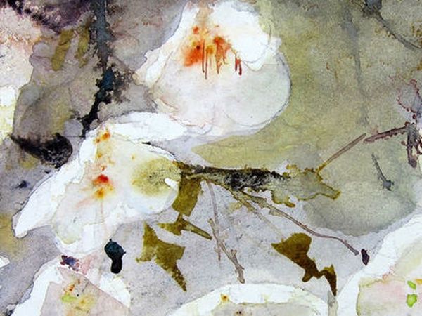 Ease and Grace in Watercolors by Reine-Marie Pinchon | Livemaster - handmade