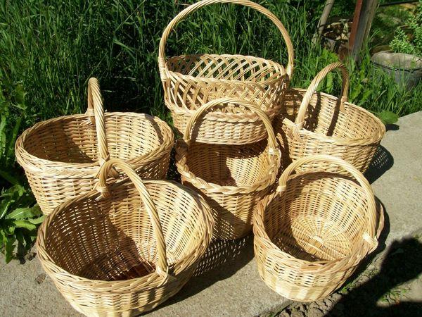 Как выбрать хорошую плетёную корзину   Ярмарка Мастеров - ручная работа, handmade