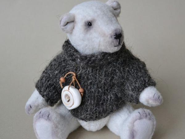 Из чего сделаны белые медведи? | Ярмарка Мастеров - ручная работа, handmade