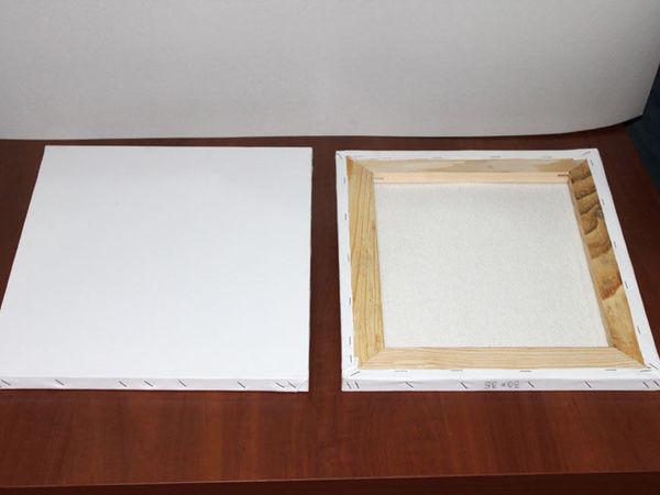 Подготовка (обтяжка и грунтовка) холста для написания картины масляными красками | Ярмарка Мастеров - ручная работа, handmade
