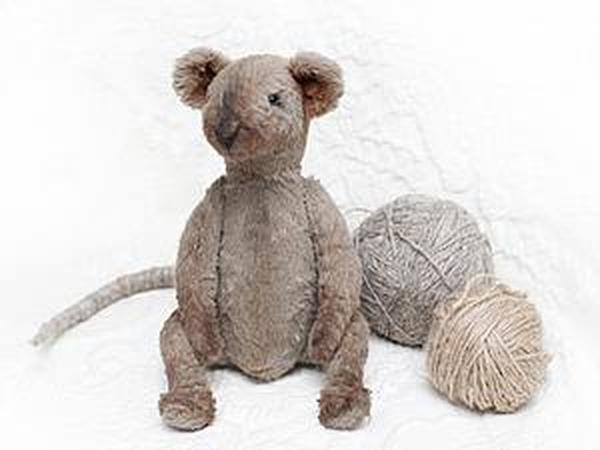 Как сделать хвост мышке или крысе   Ярмарка Мастеров - ручная работа, handmade