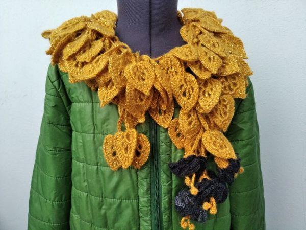 Оригинальные шарфики от 1300 руб | Ярмарка Мастеров - ручная работа, handmade