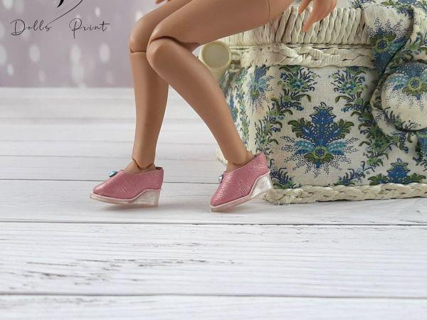 Делаем туфли на танкетке для кукол Блайз | Ярмарка Мастеров - ручная работа, handmade