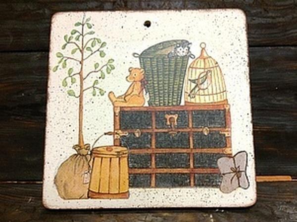 Не умеете клеить салфетку без складок?  Декупаж на дереве! Потрясающий, уникальный метод наклеивания   Ярмарка Мастеров - ручная работа, handmade