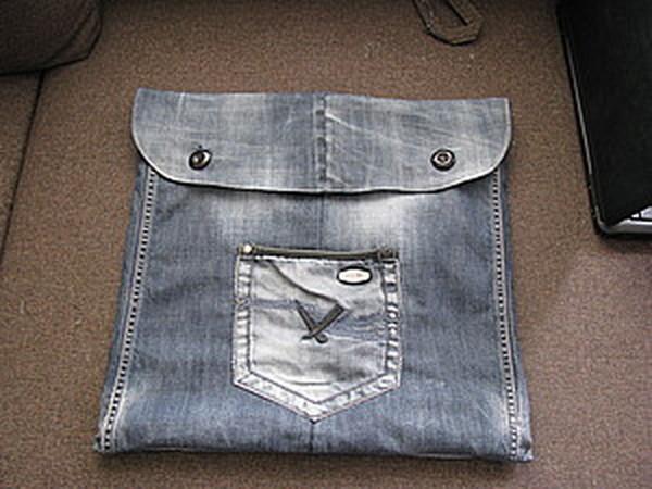 Шьем из старых джинсов сумку в машину | Ярмарка Мастеров - ручная работа, handmade