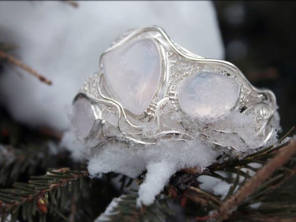 Создание филигранного серебряного браслета «Три имени зимы». Часть первая | Ярмарка Мастеров - ручная работа, handmade