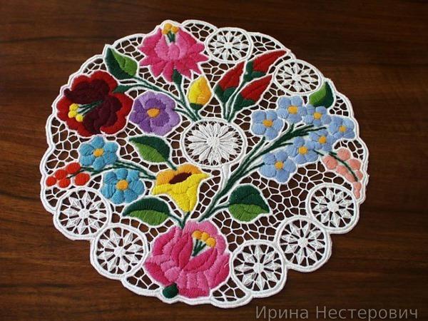 Калоченская вышивка: прекрасные работы венгерских мастериц | Ярмарка Мастеров - ручная работа, handmade