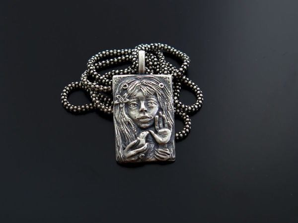Нанесение патины на серебро (искусственное чернение серебра) | Ярмарка Мастеров - ручная работа, handmade