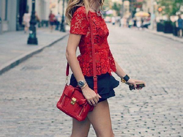С чем носить красную сумку: делаем образ выразительнее   Ярмарка Мастеров - ручная работа, handmade