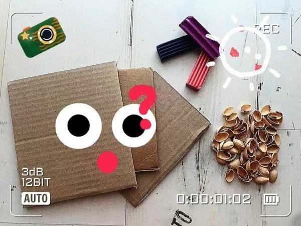 Мусор в дело: поделка из простых материалов | Ярмарка Мастеров - ручная работа, handmade