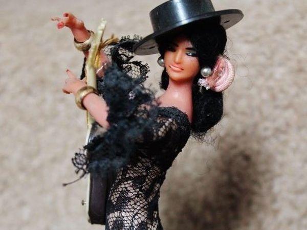 Чувственные куклы фламенко в образе Carmelita Geraghty | Ярмарка Мастеров - ручная работа, handmade