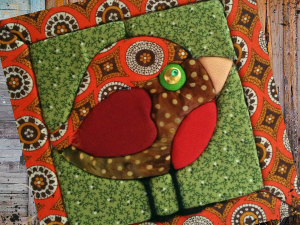 Детское творчество — пэчворк без иглы. Кинусайга | Ярмарка Мастеров - ручная работа, handmade