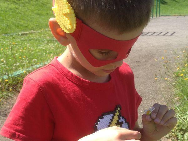 Мама, я — супергерой! Создаем с ребенком символику любимого героя из термомозаики | Ярмарка Мастеров - ручная работа, handmade