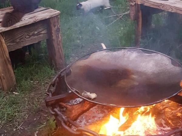 Как сделать брутальную костровую чашу своими руками | Ярмарка Мастеров - ручная работа, handmade