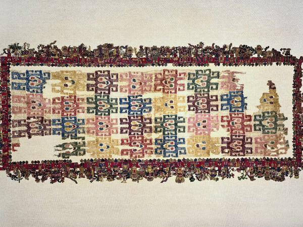 Шедевры индейского искусства: ткань Паракас | Ярмарка Мастеров - ручная работа, handmade