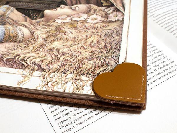 DIY ''Heart'' Bookmark In 10 Minutes | Livemaster - handmade