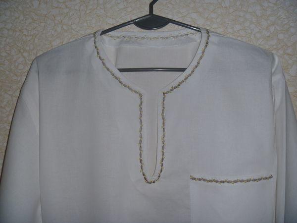 Видеоурок: как сшить рубаху-вышиванку | Ярмарка Мастеров - ручная работа, handmade
