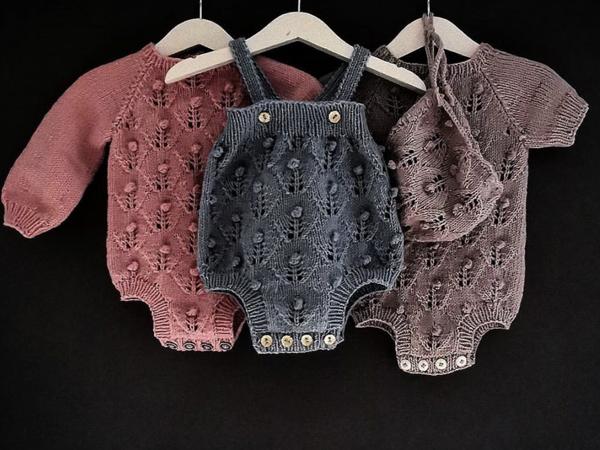 Вдохновляющая подборка вязаных моделей для малышей и мам | Ярмарка Мастеров - ручная работа, handmade