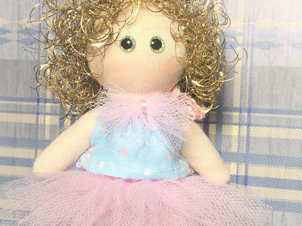 Шьем ангелочка с золотыми волосами. Часть первая | Ярмарка Мастеров - ручная работа, handmade