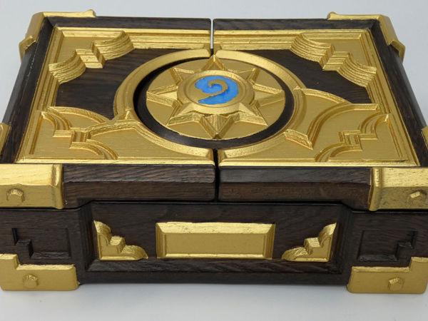 Хартстоун шкатулка Hearthstone box   Ярмарка Мастеров - ручная работа, handmade