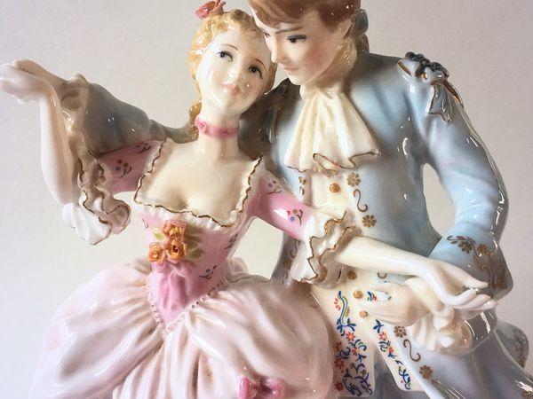 Статуэтка Влюблённые. Флирт. На балу. Royal Worcester Англия | Ярмарка Мастеров - ручная работа, handmade
