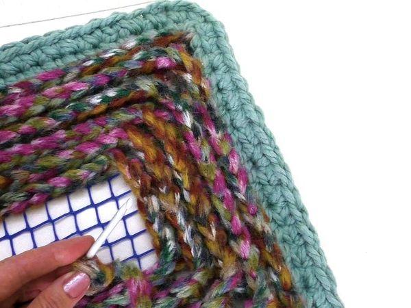 Мастер-класс: коврик для дома   Ярмарка Мастеров - ручная работа, handmade