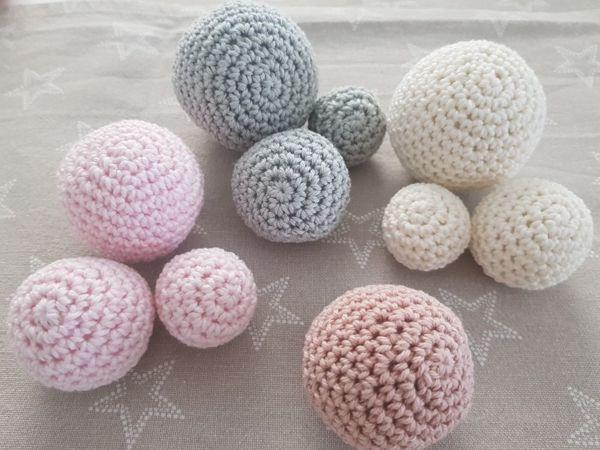 Видеоурок: вяжем шарик крючком | Ярмарка Мастеров - ручная работа, handmade