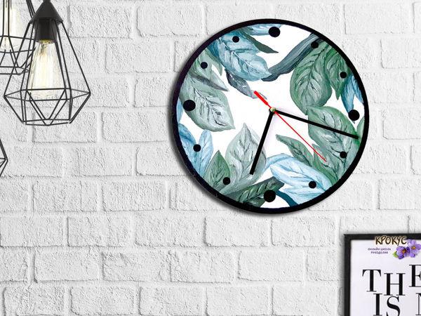 Декорируем часы в стиле Сканди   Ярмарка Мастеров - ручная работа, handmade