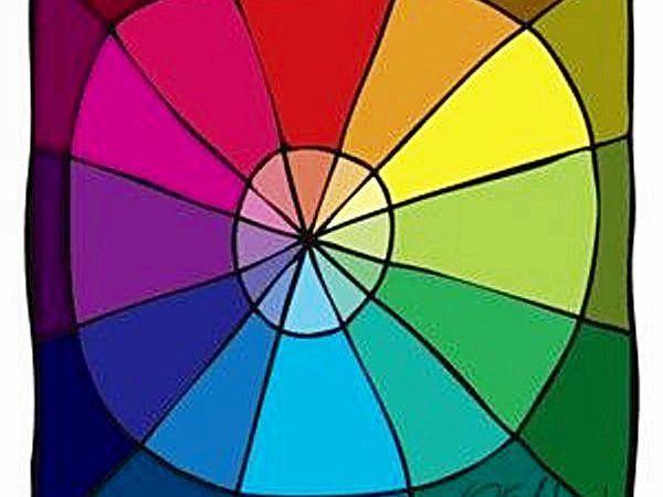 Почему не получается фиолетовый цвет, или Зачем рисовать свой цветовой круг   Ярмарка Мастеров - ручная работа, handmade