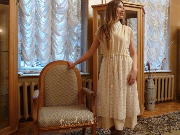Платье на свадьбу, банкет, в офис, на прогулку | Ярмарка Мастеров - ручная работа, handmade