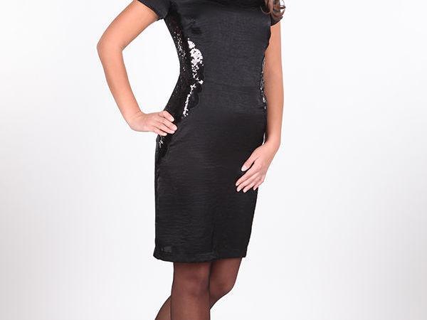 Ауцион Jeffa на платье из черного шелка арт.5209. Стартовая цена 900 рублей. | Ярмарка Мастеров - ручная работа, handmade