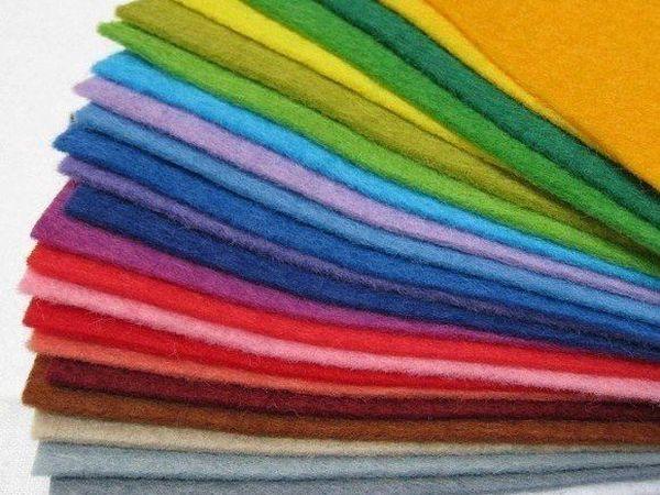 Такой разный фетр. Как выбрать подходящий материал в зависимости от назначения изделия | Ярмарка Мастеров - ручная работа, handmade