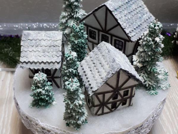 Make Luminaire ''Christmas Village'' | Livemaster - handmade