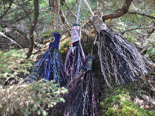 Ведьмины мётлы   Ярмарка Мастеров - ручная работа, handmade