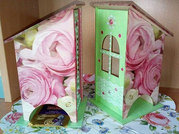 Декорируем чайный домик