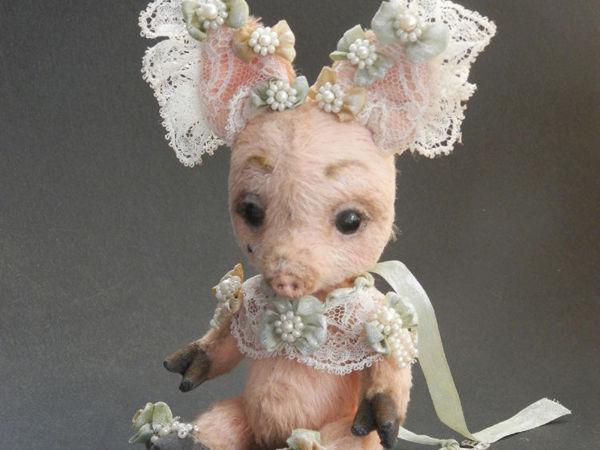 Потешная свинья Короля Солнца и от чего у неё ключ | Ярмарка Мастеров - ручная работа, handmade