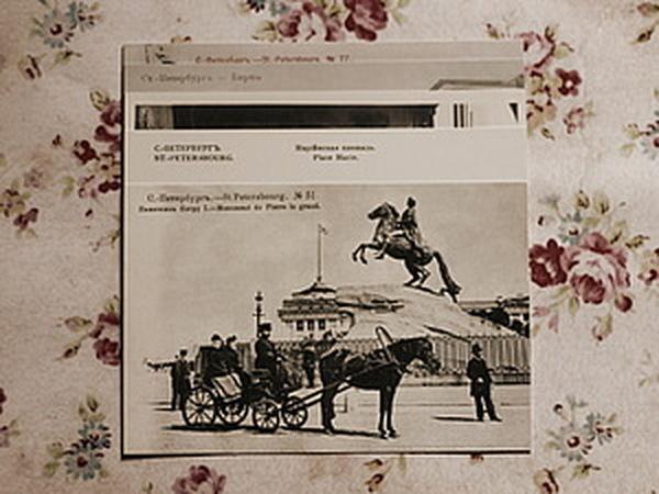 В июле, приобретая любой аксессуар или украшение, в подарок винтажную открытку с видами Санкт-Петерб | Ярмарка Мастеров - ручная работа, handmade