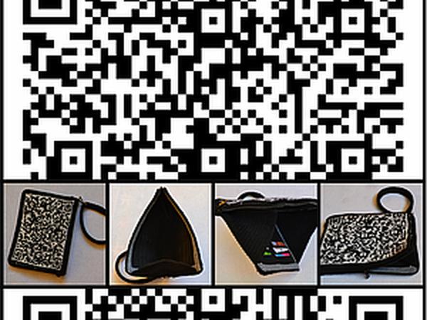 QR-клатч на скидку! | Ярмарка Мастеров - ручная работа, handmade