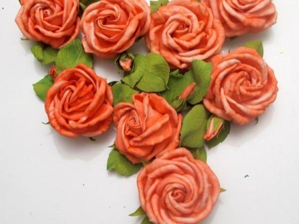 Мастер-класс цветы из фоамирана на любой вкус! | Ярмарка Мастеров - ручная работа, handmade