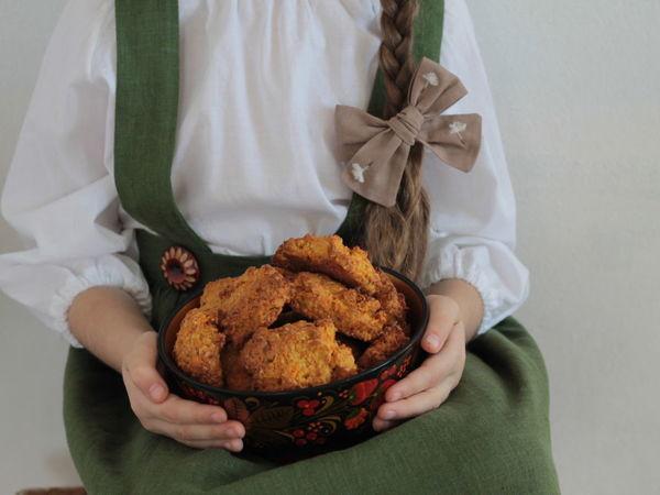 Готовим постное овсяное печенье с морковкой   Ярмарка Мастеров - ручная работа, handmade