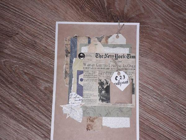 Мастерим открытку к 23 февраля за 1 час   Ярмарка Мастеров - ручная работа, handmade