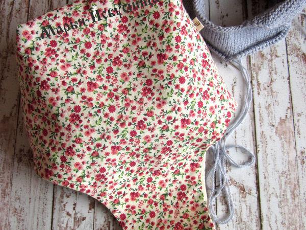 Как сшить сумку для рукодельницы | Ярмарка Мастеров - ручная работа, handmade