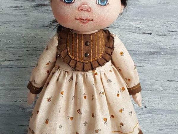 Vestido de muñeca de estilo retro    Feria de Maestros - trabajo hecho a mano, hecho a mano