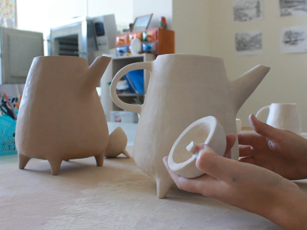 Шлифовка посуды из глины | Ярмарка Мастеров - ручная работа, handmade