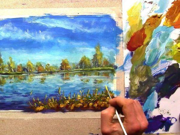 Вебинар Мастер-класс по классической живописи пейзажа | Ярмарка Мастеров - ручная работа, handmade