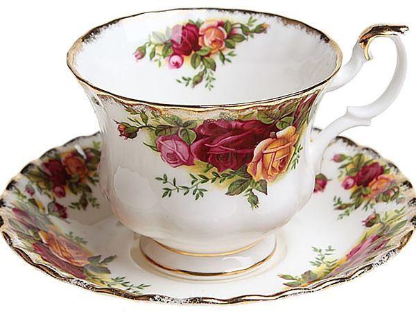 Five-o-Clock or Something about English Porcelain. Part 1 — Royal Albert   Livemaster - handmade