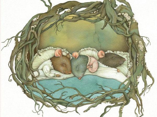 Kid's Books Illustrators: Warm Paintings from Childhood   Livemaster - handmade