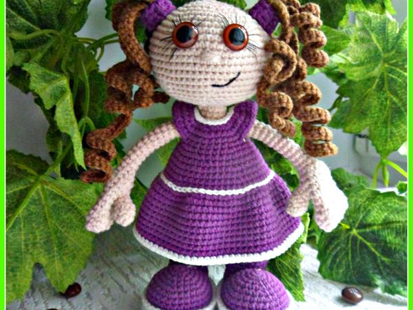 Вяжем игрушку Малышка Сьюзи   Ярмарка Мастеров - ручная работа, handmade